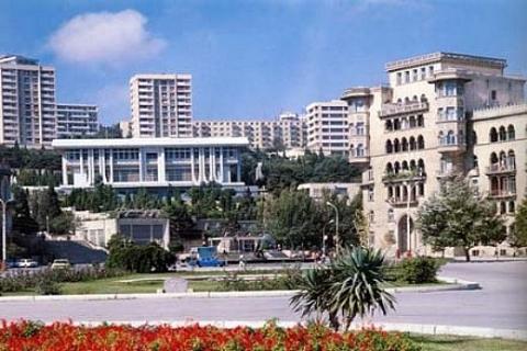 Azerbaycan'ın başkenti Bakü