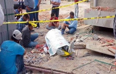 Kırşehir'deki inşaat işçilerinin can güvenliği sağlanmalı!