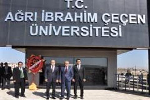 Ağrı İbrahim Çeçen Üniversitesi hizmete girdi