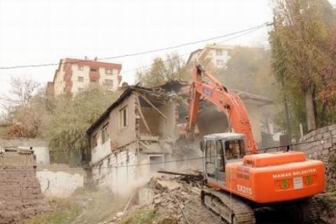 Mamak Belediyesi'nin gecekondu