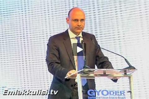 SPK 2. Başkanı Mehmet Emin Özer, 12. Gayrimenkul Zirvesi'nde konuşuyor!
