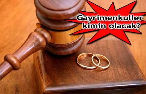 Boşanmada mal paylaşımı