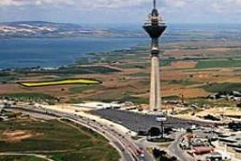 Galatasaray'a kiralanan araziye
