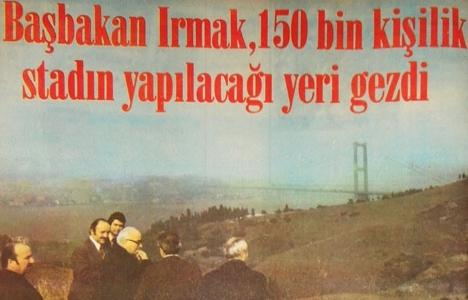 1975 yılında Boğaz'a