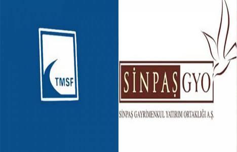 TMSF Ataşehir ihalesine Sinpaş GYO'dan 80 milyon dolar teklif!