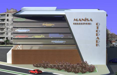 Manisa Katlı Otapark'ın inşaat çalışmaları tamamlanmak üzere!