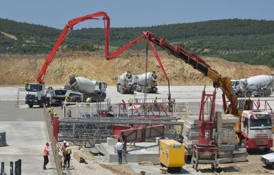 Aliağa Meslek Hastalıkları Hastanesi'nde inşaat hızlandı!