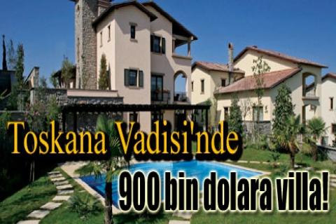 Toskana Vadisi'nde 900 bin dolara villa!