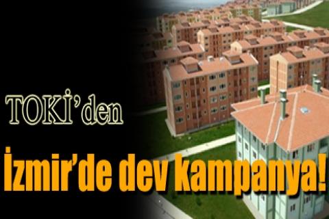 TOKİ'den İzmir'de dev kampanya!
