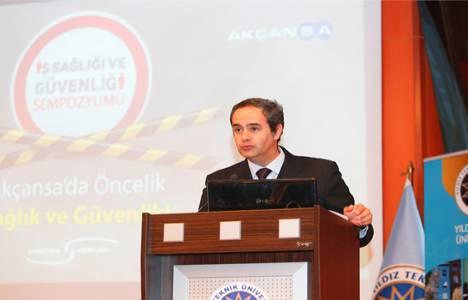 Akçansa İş Sağlığı ve Güvenliği Konferansı bugün gerçekleşti!