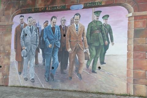 Beykoz'un duvarlarına tarihi figürler yapıldı!