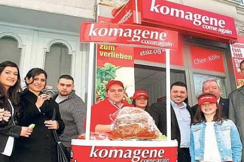 Komagene, Almanya'da 100