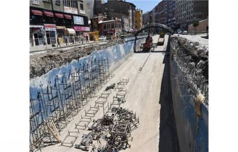 Erzurum Cumhuriyet Caddesi'ne yeni meydan inşa ediliyor!
