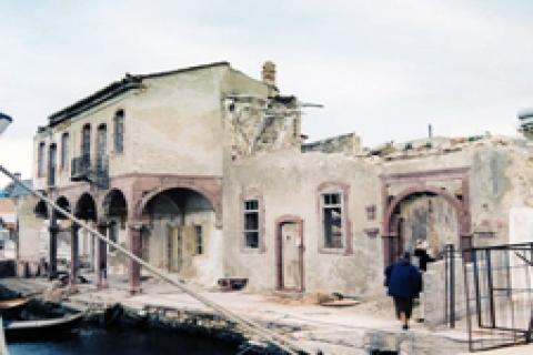 Batis'in Kahvehanesi restore ediliyor