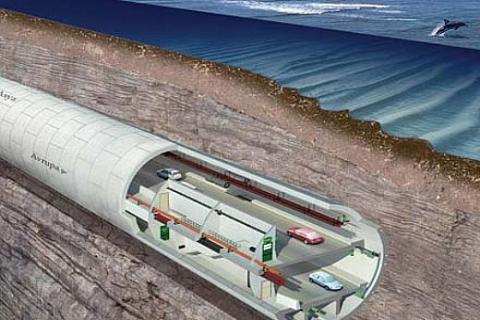 Avrasya Tüneli, sahil