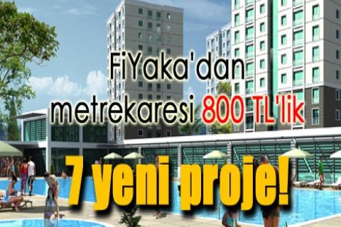 FiYaka'dan metrekaresi 800 TL'lik yedi yeni proje