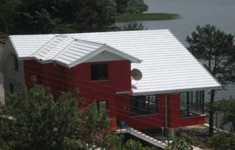 Beyaz çatılar güneş ışınlarını yüzde 80 oranında yansıtıyor!