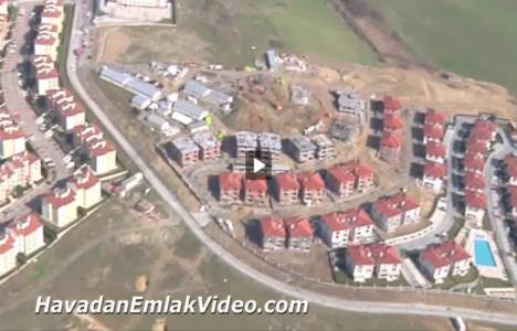 Asmalı Evler Dekar Yapı'nın havadan görüntüleri!