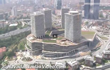 Zincirlikuyu Zorlu Center Residence'ın havadan görüntüleri!