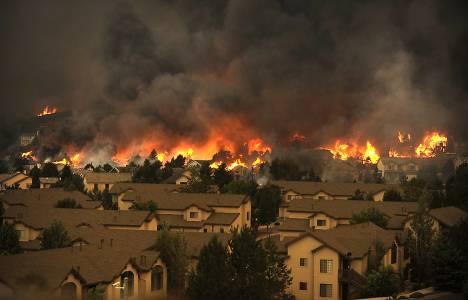 Colorado'da yangında 360