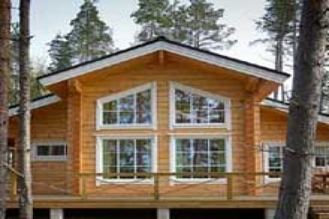 Betonarme evlere alternatif: Kütük evler