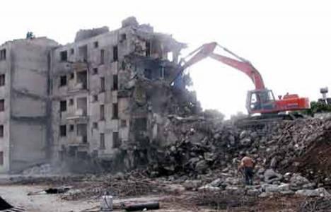 İtalya'nın Türk Merdivenleri bölgesindeki otel yıkıldı!