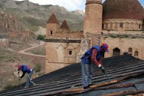Konya'da restorasyon çalışmaları başladı!