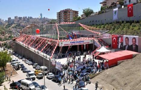 Akdere Kapalı Pazar Yeri ve Spor Kompleksi açıldı!