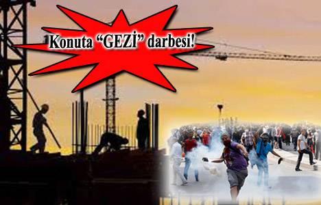Taksim Gezi Parkı olayları konut sektörünü de vurdu!