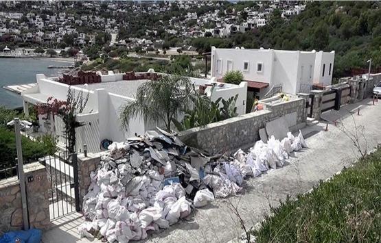 Yılmaz Özdil'in villasındaki kaçak kısımlar yıkılıyor!