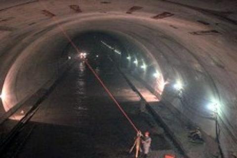 Tünel inşaatı çöktü, 12 işçiden haber yok!