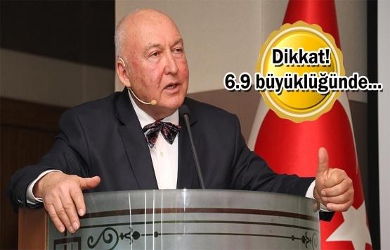 Prof. Dr. Övgün Ahmet Ercan'dan kan donduran deprem uyarısı!