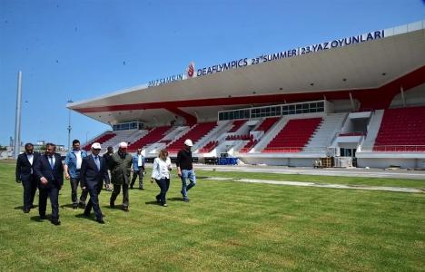 Samsun'daki spor tesisi