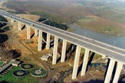 Ankara Elmadağ viyadüğünün inşaatı tamamlandı