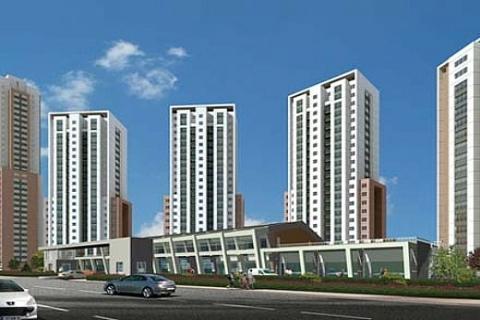 Finanskent Kiptaş Evleri'nde 413 bin 668 liraya 2 oda 1 salon!