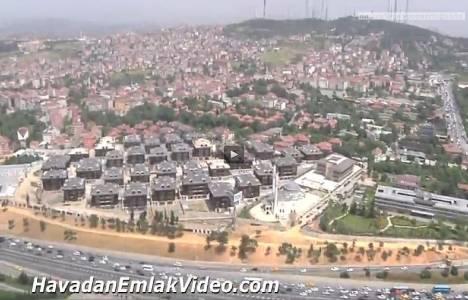 Şehrizar Konakları Altunizade'nin havadan yeni görüntüleri!