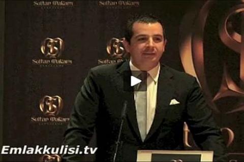 Delta, Çağdaş ve Emiroğlu İnşaat konsorsiyomu Sultan Makamı'nı anlatıyor!