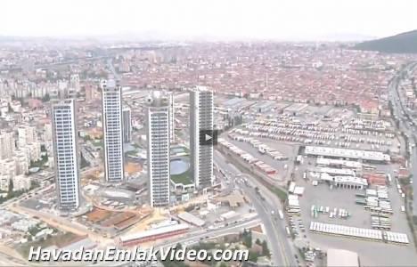 Emay İnşaat Brandium'un havadan videosu!