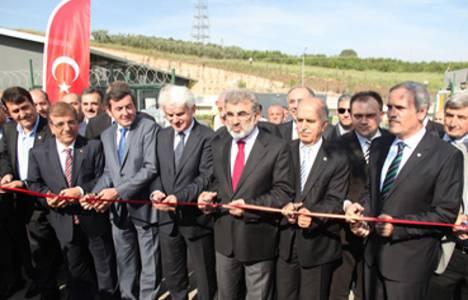Bursa'da katı atık tesisi açıldı!