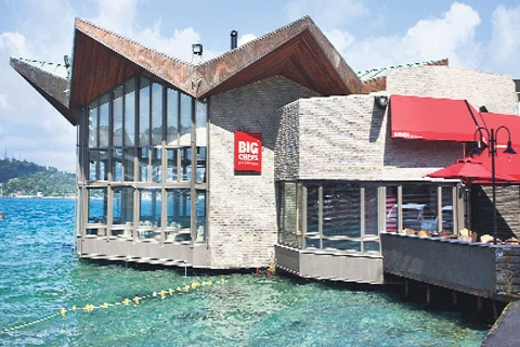 Big Chefs İstanbul'daki 8'inci şubesini Tarabya'da açtı!