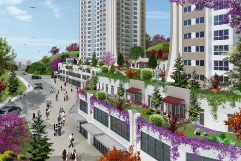 Ağaoğlu My Home Maslak projesinde 408 bin liradan başlayan fiyatlarla!