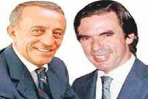 Ağaoğlu'ndan eski Başbakan Aznar'a danışmanlık teklifi