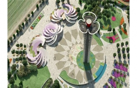 Antalya EXPO Kulesi'nin