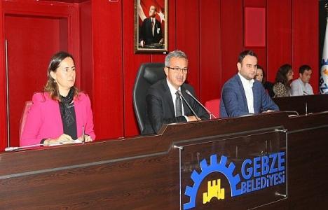 Gebze Belediye Meclisi Kasım toplantısı yapıldı!