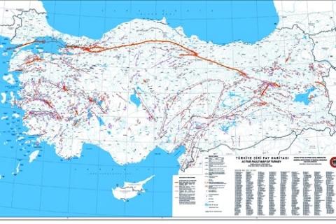 İstanbul'un merkezinde diri fay bulunmuyor!