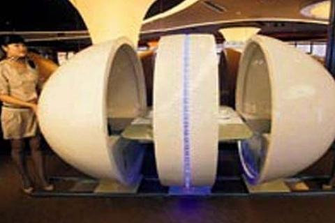 Çin'deki Special Class restoranı Airbus A380 gibi tasarlandı!