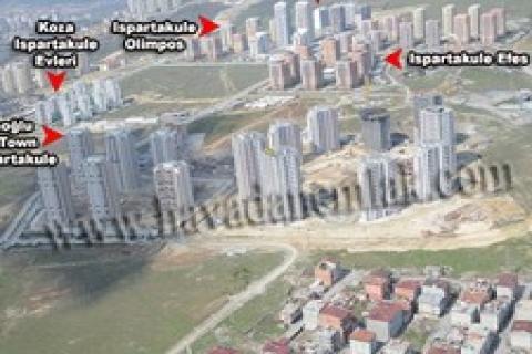 Ağaoğlu My Town Ispartakule projesinden son kareler!