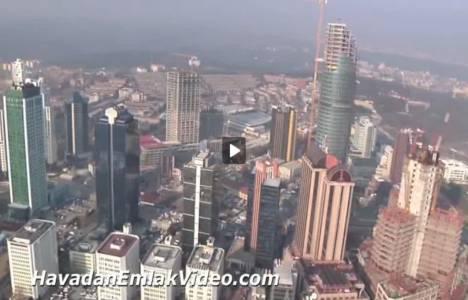 Spine Tower Residence'nin havadan görüntüleri!