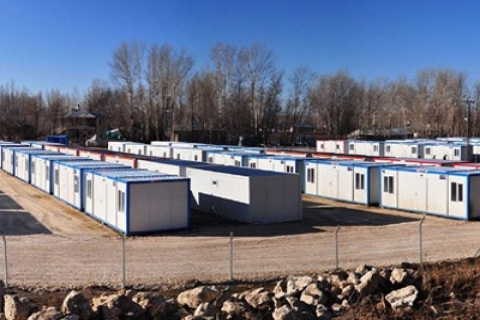 Van'a 28 bin konteyner kuruluyor! 180 bin kişi yaşayacak!