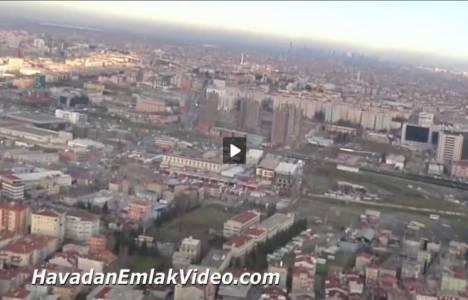 İstwest Yenibosna'nın havadan yeni görüntüleri!